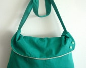 ON SALE Spring Fling Messenger Bag ( reserved for Mel P.)