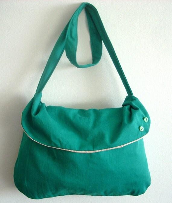 ON SALE Spring Fling Messenger Bag ( reserved for Mel P.)