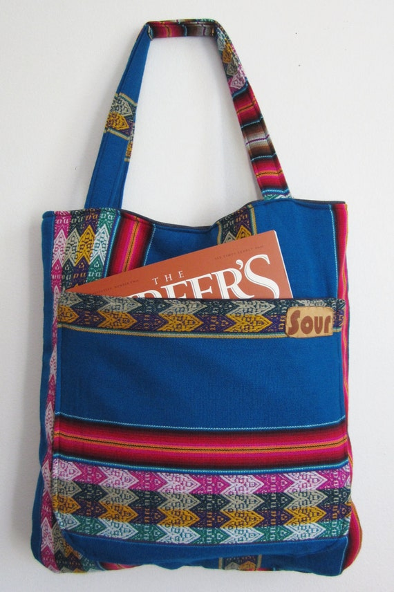 Grassroots Native Pattern Tote bag ( reserved for Nancy E.)