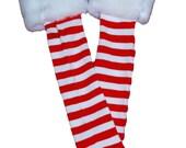 FREE SHIP Santa Claus Baby Toddler Leg Warmers