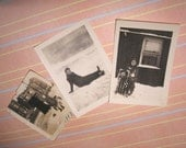 Snow Vintage Photo Packet