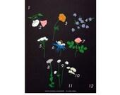 Wildflowers Calendar (Irregular Print) / Plant Planet