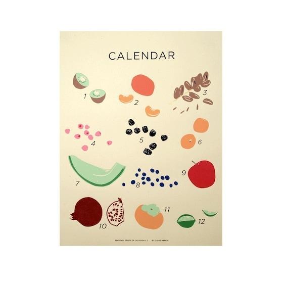 Seasonal Fruits of California \/\/ Claire Nereim