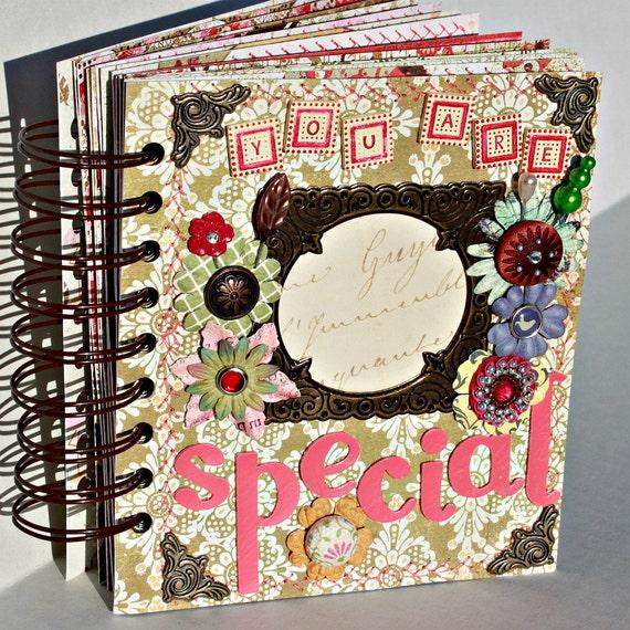 YOU ARE SPECIAL A-z Scrapbook Album