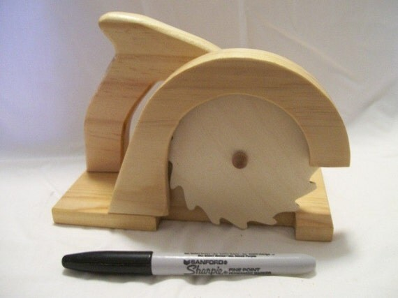 Saw wooden toy circular saw tool just like dads