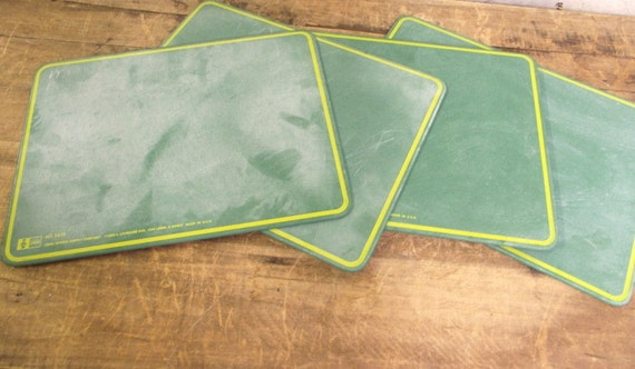 Old School Vintage Green Chalk Board by Ideal ONE LEFT