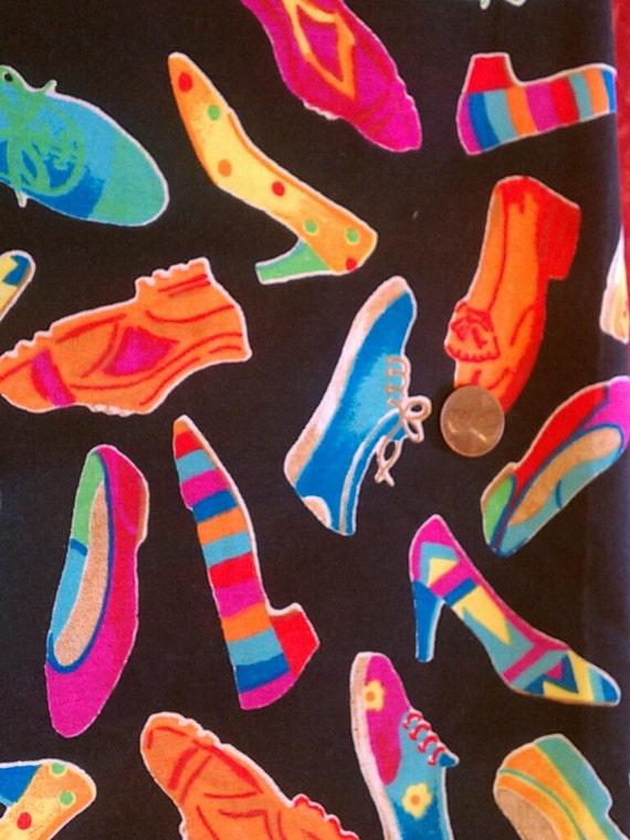 Vintage Shoe Fabric