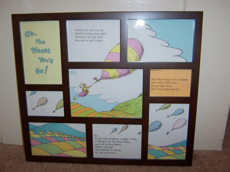 Hot Air Balloons Dr Seuss Adaptation Original Upcycled