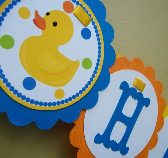 Rubber Duck Banner