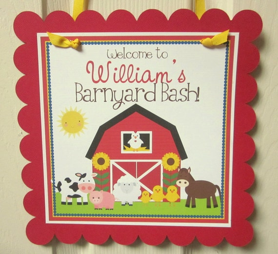 Welcome Sign Down On The Farm