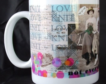 Knitter's Coffee Mug - Knit Love: Not Everybody Gets It - kNotes for kNitters