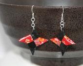 Shuriken Earrings