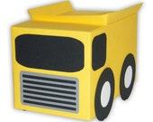 Dump Truck Gift Box Favors (custom colors available)