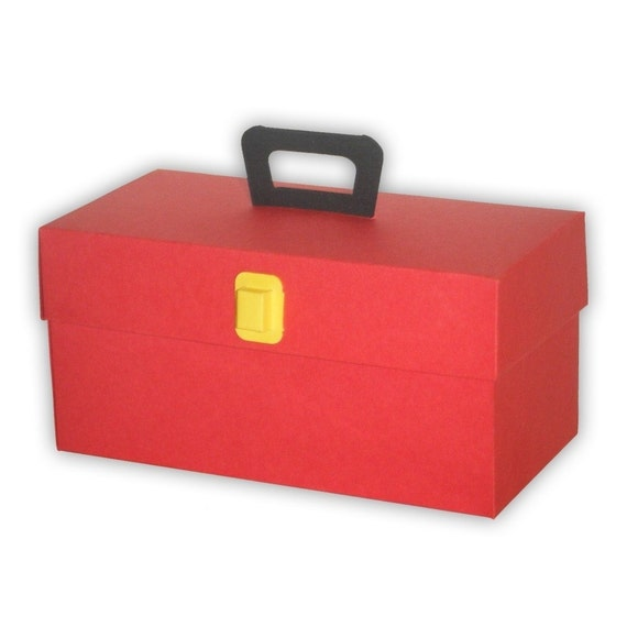 5 Toolbox Favor Boxes