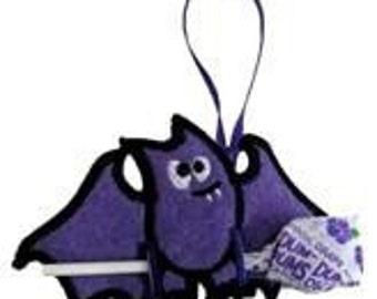 Clever Little Bat Sucker or Pencil Holder Ornament