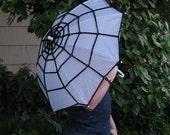 Spider Web Crochet Parasol No.4 - Costume Miss Muffet - Exclusive Aberrant Crochet Original Design
