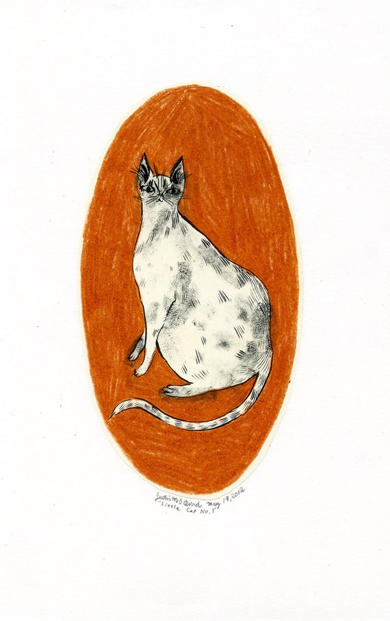 Little Cat No.1 (original drawing, 2012)