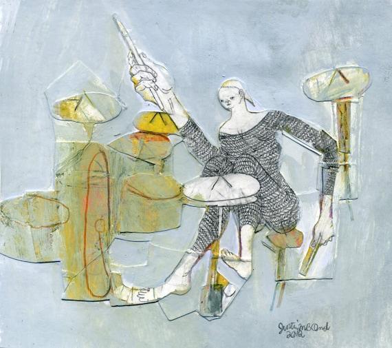 Drums (original painting, 2012)