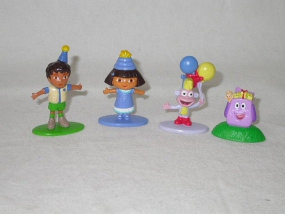 Dora the Explorer Chutes and Ladders Game by VintagePaperWorks