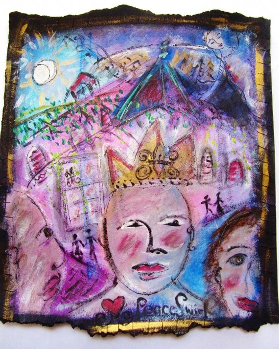 French Quarter Dreams original painting Reserved for Julie