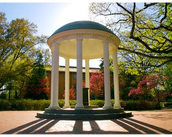 Old Well at UNC-Chapel Hill, North Carolina Photography - UNC-CH, College Home Decor Fine Art Print or Note Card Set
