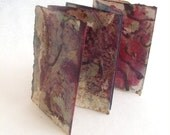 Two Sides To Every Story   Mixed Media Sculptural Book - artmixter