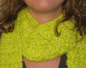 Funky Lime Green Scarf