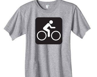 Bicycle Sign T-shirt onesie