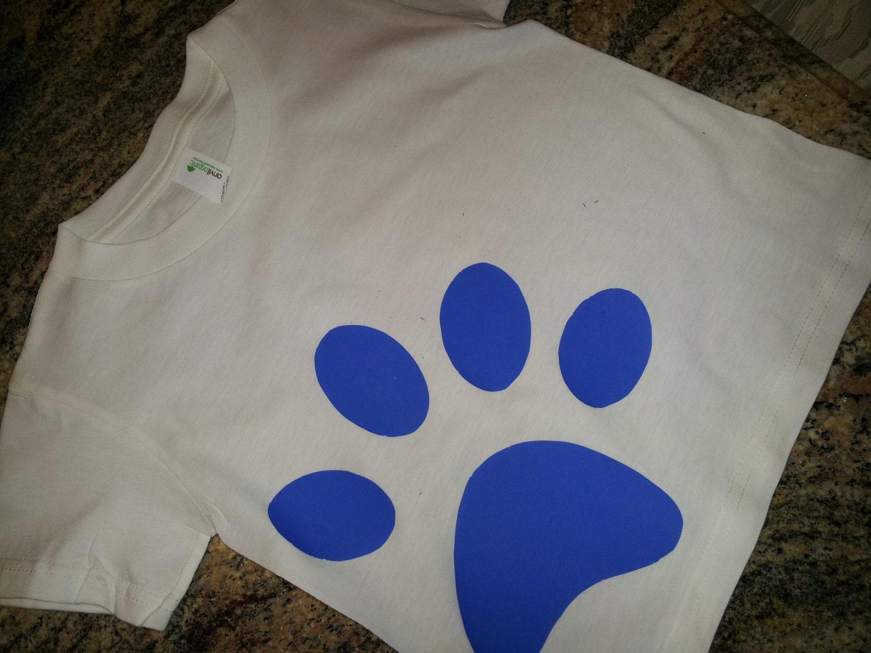 blues clues pawprint t...
