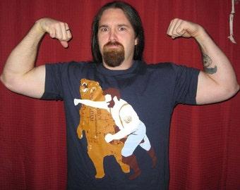 Bear, tshirt, American, tee, Available S-2XL