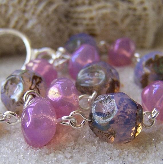 SALE: Pink Opal Bracelet