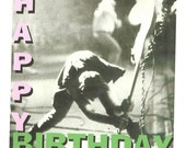 The Clash birthday card