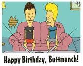 Beavis and Butthead Birthday Card
