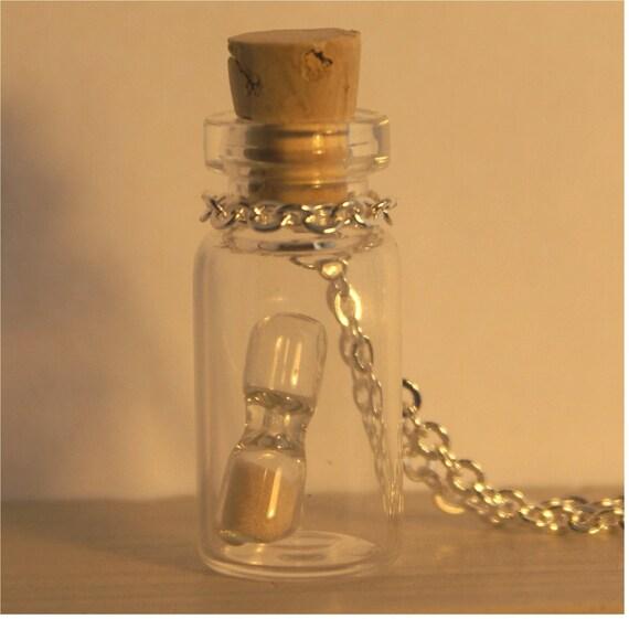 time in a bottle necklace. Black Bedroom Furniture Sets. Home Design Ideas