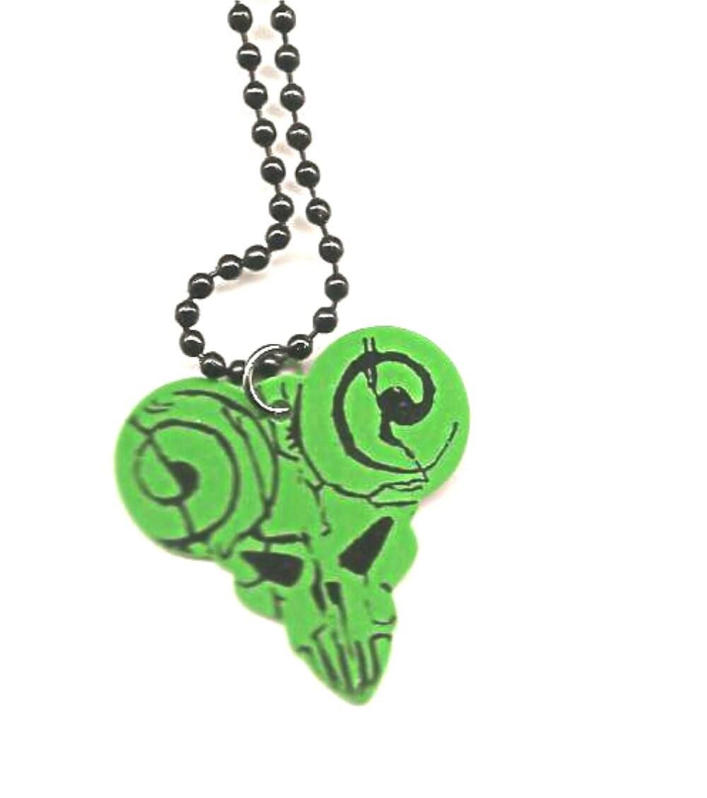 Tenacious D Pick of Destiny guitar pick necklace