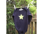 Little Star Onesie 6-12 Months