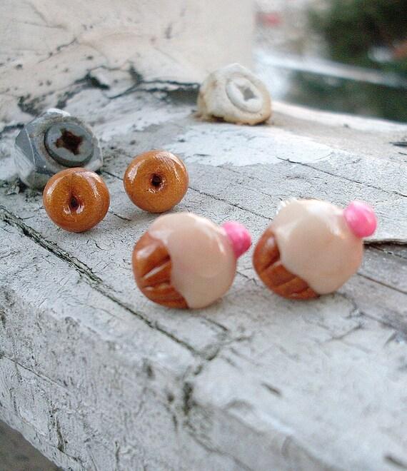 Cheerio Donut Earrings