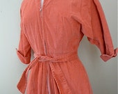 Reserved The Sweetest apricot dressing gown size small