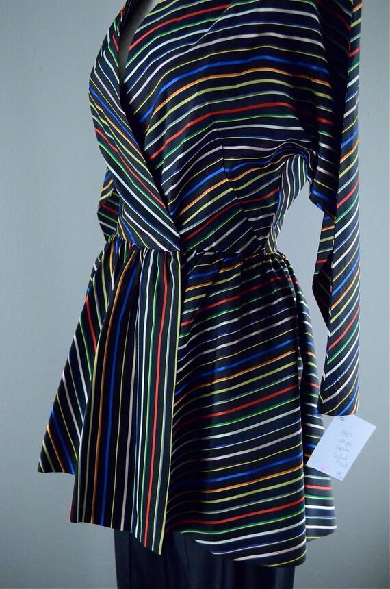 1940s pant suit / Maxan / 40s peplum suit