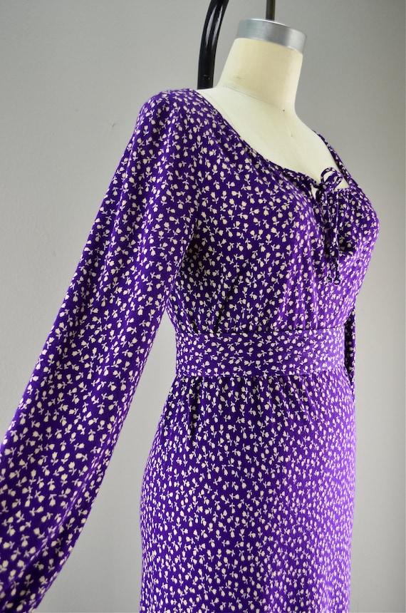 RESERVED FOR JANE 1970s Diane Von Furstenberg dress
