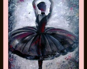 Pirouette - Original Oil painting - 20 by 16 inches