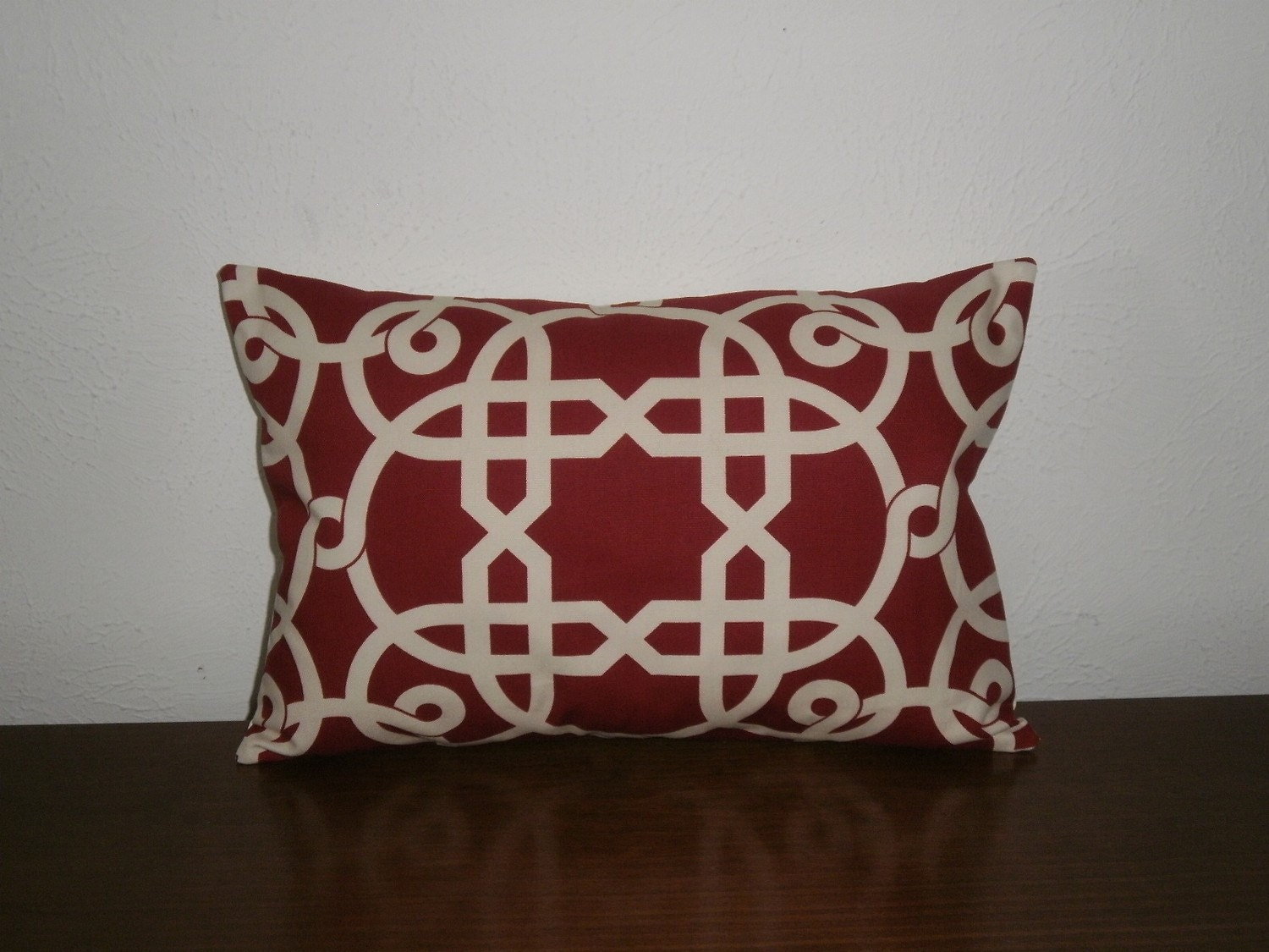 SALE..Decorative Pillow Cover 12 X 17 1/2 inch Geometric