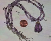 Super Sale and FREE SHIPPING on Amethyst LOVER Necklace