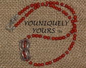 HUGE SALE -Holiday Red Natural Coral Necklace