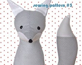 Happy Sew Lucky Fox Sewing Pattern-Personal Use