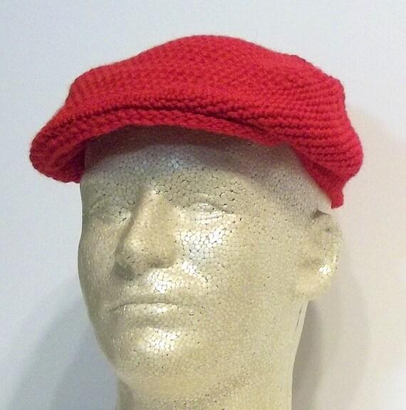 Red Male - Female Driving Cap
