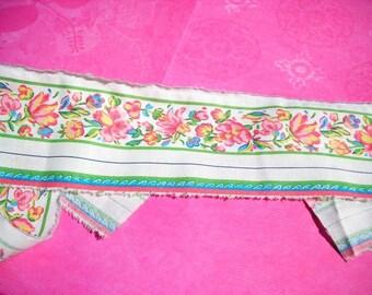 Vera Bradley Craft Fabric Trim Floral Border. 1 yard