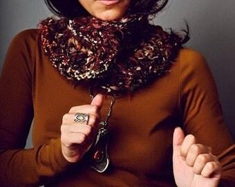 Brown Wood Collar