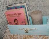 Sewing Machine Drawer VIntage Singer Curio Box Letter holder sewbuzyb