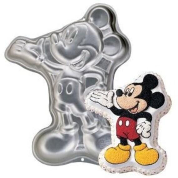Wilton Full Body MICKEY MOUSE Disney Cake Pan 2105-3601 Retired sewbuzyb sst